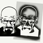 Breaking Bad Stencil Walter White Heisenberg Reusable Mylar Wall Art