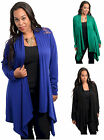 New LACE BACK Topper/Jacket PLUS SIZE Top Blouse XL/1X/2X/3X   FREE SHIPPING