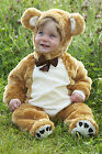 NEW! TRAVIS BABY TEDDY BEAR OUTFIT FANCY DRESS UP TODDLER 3 - 6 -12 -18 MONTHS