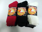 LADIES THERMAL SOCKS MULTI  COLOURED  - 3  PACK  - SK139