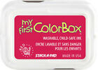My First Colorbox Kids Ink Pad Color Child-safe Red Turquoise Silver Yellow Blue