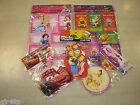 Assorted Christmas Disney Gift Tags & Gift Label Packets Princess Cars Pooh XMAS