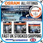 NEW OSRAM NIGHT BREAKER UNLIMITED / LASER ALL TYPES WORLDWIDE SHIPPING +110-130%
