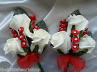 2 Ladies Wedding Flowers Corsages / Buttonholes Mother of the bride All Colours