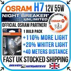 NEW OSRAM NIGHT BREAKER UNLIMITED / LASER BULBS UPGRADE SALE UPTO +110-130% MORE