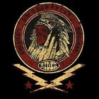 CUSTOM MOTORCYCLE INDIAN WARRIOR HEADDRESS T SHIRT M TO 6X W/FREE HARLEY DECAL