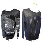 Urban Outfitters Sweater NEW (msrp $59) Med Vintage Chiffon Top Womens