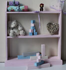 Nursery children bookcase free standing bookshelf ideal for books and toys