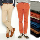 pkg01247 various color spandex slim chino casual dandy pants made in korea