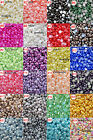 US Seller -- 24 Colors Pearl Cabochons Flatback Half Pearl (  Size 2-14 mm )