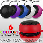 "3.5mm RECHARGEABLE CAPSULE TRAVEL SPEAKER FOR TESCO HUDL 7"" TABLET"