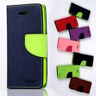 Mercury Fancy Diary Flip cover CASE Florescent FoR Apple iPhone4 iphone4G/4S