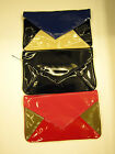 BULAGGI NAVY/RED RECTANGLE CLUTCH BAG  WITH STRAP (32415.64)