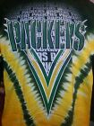GREEN BAY PACKERS Tie Dye V Dye T-Shirt NEW WITH TAGS  NFL  DOUBLE SIDED on eBay