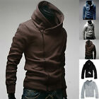 SALE PJ Mens Slim Fit Sexy Top Designed Hoodies Jackets Coats Tops 5Color 4size