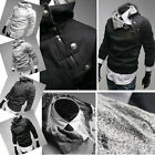 Mens Slim Fit Top Designed Hooded Hoodies Jackets Coats IN Size S M L XL PJ TOPS