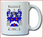 GILLESPIE (IRISH) COAT OF ARMS COFFEE MUG