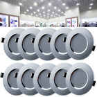 4/10/20x 3W LED Recessed Ceiling Light Downlight Lamp Spotlight Day Warm White