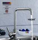 VIBORG Deluxe SUS304 Stainless Steel Casting Lead-free Kitchen Faucet Mixer Tap