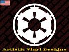 Star Wars inspired decal sticker, Galactic Empire, different colors and sizes $1.49 USD on eBay