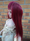 KEMPER DOLLS WIG ALTHEA IN BURGUNDY ASSORTED SIZES