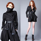 Widow by Lip Service Black & Lace & Cemetery Assassin Jacket Coat Gothic Wiccan