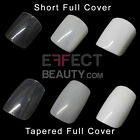 500 False Nail Tips | Full Cover Nail Tips | White, Natural or Clear | Free Post