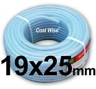 19mm ID CLEAR PVC BRAIDED HOSE-FOOD GRADE- OIL/WATER/GASES- REINFORCED PIPE TUBE