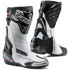 TCX R-S2 Evo Road Race Sport Motorcycle Boots - White / Black