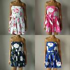 NWT ABERCROMBIE & FITCH ANF WOMENS Pretty Strapless Payton Floral Sun Dress