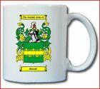 HURRELL COAT OF ARMS COFFEE MUG