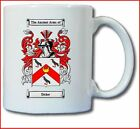 DICKER COAT OF ARMS COFFEE MUG