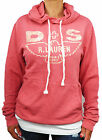 Women's Designer Ralph Lauren Denim and Supply Dark Pink Hoody Top
