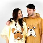 Boxer Or Pug Poncho Waterproof Jacket Festival Camping Novelty Gift