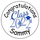 120 Graduation Hershey Kiss Labels - Personalized - Party Favors - Seals - 2015