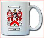 LECKIE COAT OF ARMS COFFEE MUG