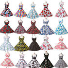 Countryside Floral Vintage Retro 50s 60s swing Pinup Rockabilly Housewife Dress