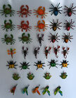 WIGGLY 3D FRIDGE MAGNETS - INSECTS CRABS SPIDERS BIRDS REPTILES FROGS PARROT