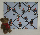 ABC Memo Photo Message Board created with Ralph Lauren Polo Teddy Bears Fabric