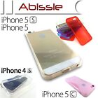 Heavy Duty Durable Clear Transparent Case Cover for Apple iPhone 4 4S 5C 5 5S