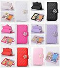 Leather Flip Wallet Case Cover Skin + Screen Film For Samsung Note 3 N9000 N3P2M