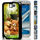 Beauty 3D Top Design Hard Cell Phone Case Cover For Samsung Galaxy Note II N7100