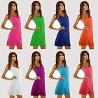 New Women Lady Halter Skirt Summer Beach Dress Bikini Cover Up Top Vest Swimwear