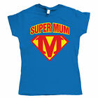 Supermum, Womens Mothers Day T Shirt