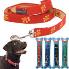 48CM COLLAR DOG PET PUPPY TRAINING WALK LEAD ROPE LEASH HARNESS ADJUSTABLE BELT