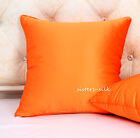 "1 PC 22MM 100% PURE SILK THROW PILLOW CASE SHAMS COVERS 16""X16"" 18""X18"" 20""X20"""