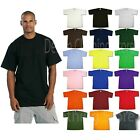 1 NEW PRO CLUB MEN'S BLANK HEAVY WEIGHT CREW NECK SHORT SLEEVE T-SHIRT S - 10XL image
