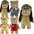 "12"" OFFICIAL TALKING TED MOVIE TEDDY BEAR WITH SOUND PLUSH CUDDLY SOFT TOY KIDS"