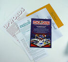 Spare Replacement Board Game Instruction Sheets - Scrabble, Monopoly, Cluedo