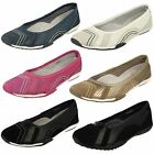 LADIES LEATHER DOWN TO EARTH SLIP ON SHOES STYLE - F8991